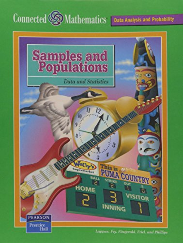 9780131808317: CONNECTED MATHEMATICS (CMP) SAMPLES AND POPULATIONS STUDENT EDITION     2004C