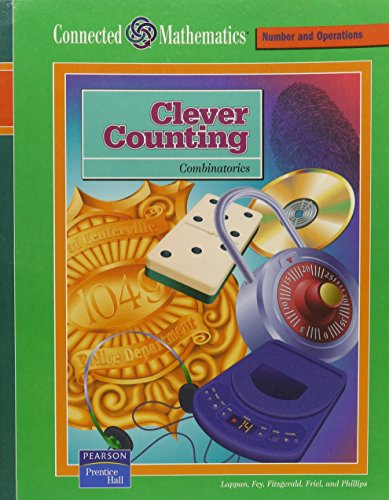 9780131808324: CONNECTED MATHEMATICS (CMP) CLEVER COUNTING STUDENT EDITION 2004C