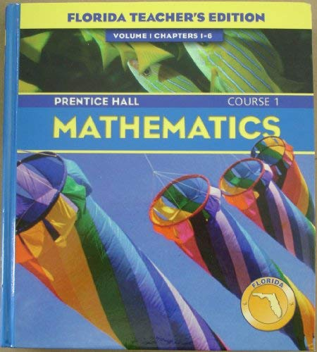 9780131808973: Prentice Hall Mathematics, Course 1, Vol. 1, Chapters 1-6