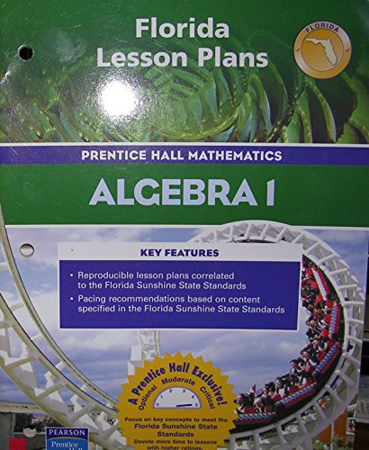 9780131809192: Lesson Plans (Prentice Hall Mathematics Algebra 1)