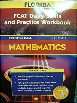 9780131809529: Florida FCAT Daily Skills and Practice Workbook Mathematics