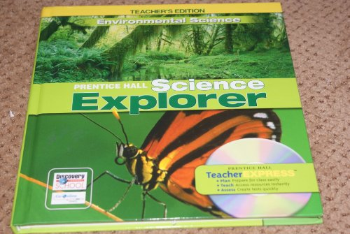 9780131811232: Environmental Science, Teacher's Edition (Prentice Hall Science Explorer)
