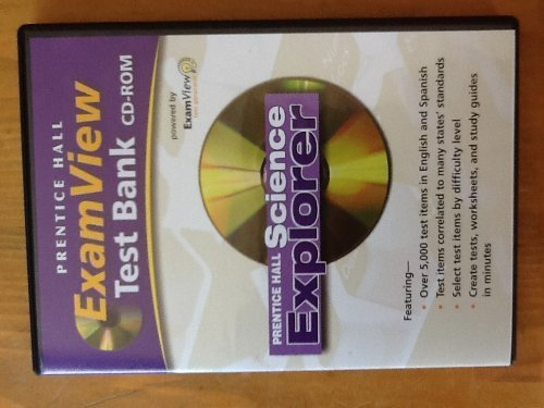 9780131811942: ExamView Test Bank CD-ROM for Prentice Hall Science Explorer