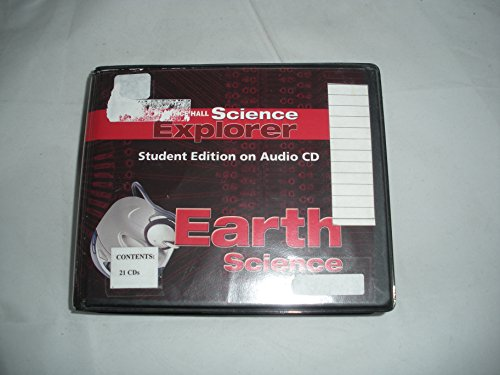 9780131812963: SCIENCE EXPLORER EARTH SCIENCE STUDENT EDITION ON AUDIO CD 2005C