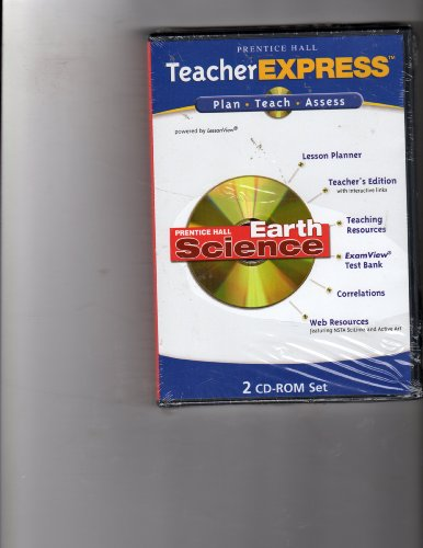 9780131813045: Teacher Express Plan-Teach-Assess (Prentice Hall Earth Science)