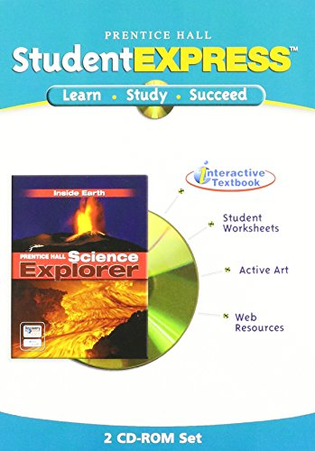 9780131813328: SCIENCE EXPLORER INSIDE EARTH ITEXT CD ROM 2005