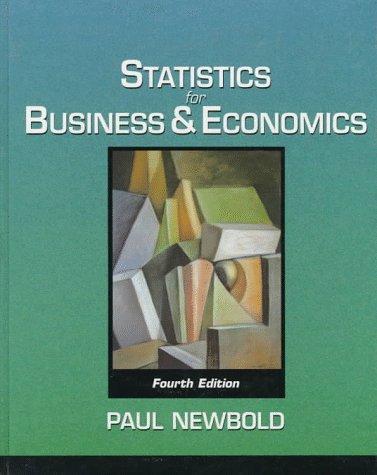 statistics for business and economics newbold pdf