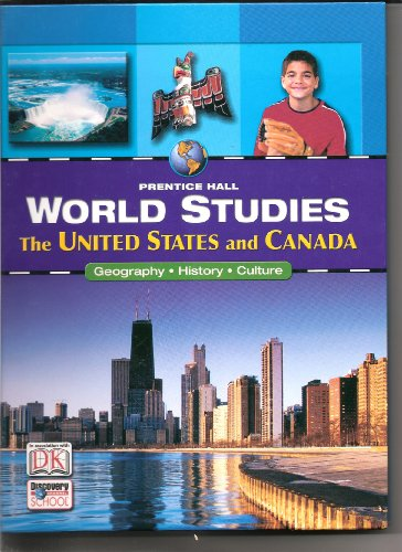 World Studies: The United States and Canada (Prentice Hall World Studies): Jacobs, Heidi Hayes; ...