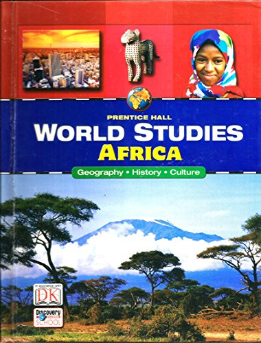 9780131816541: Africa: Geography, History, Culture (Prentice Hall World Studies)