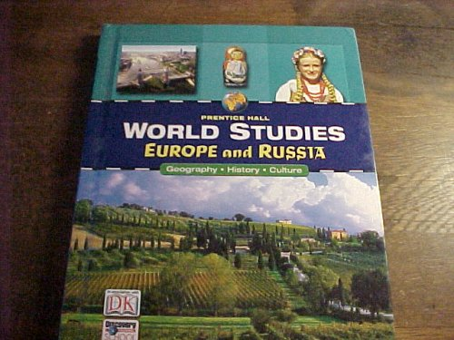 9780131816558: World Studies: Europe And Russia