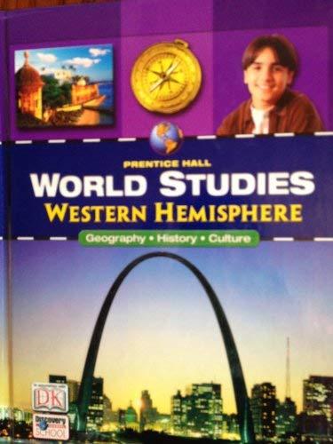 9780131816589: Western Hemisphere (Prentice Hall World Studies)