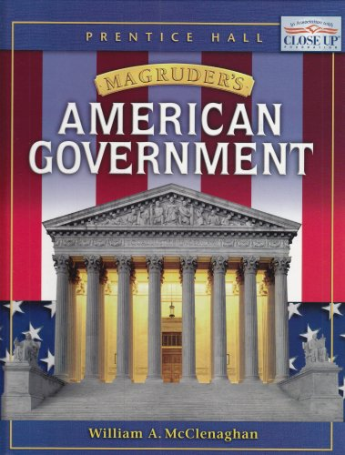 9780131816763: MAGRUDER'S AMERICAN GOVERNMENT STUDENT EDITION 2004C