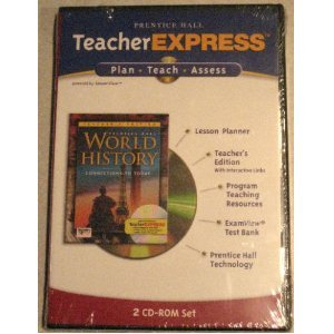 9780131817586: Prentice Hall Teacher Express: Plan, Teach, Assess (World History: Connections to Today)