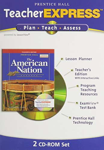 9780131817685: THE AMERICAN NATION TEACHERS EXPRESS 9TH EDITION REVISED 2005C