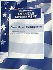 9780131818910: Magruder's American Government (Close Up on Participation)