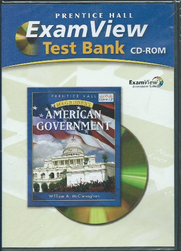 9780131818958: Magruders American Government Examview Cd-rom