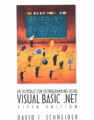 9780131823075: Introduction to Programming With Visual Basic .Net