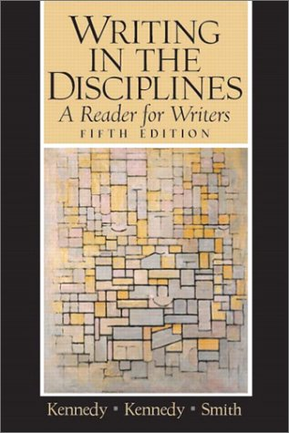 9780131823822: Writing in the Disciplines: A Reader for Writers (5th Edition)