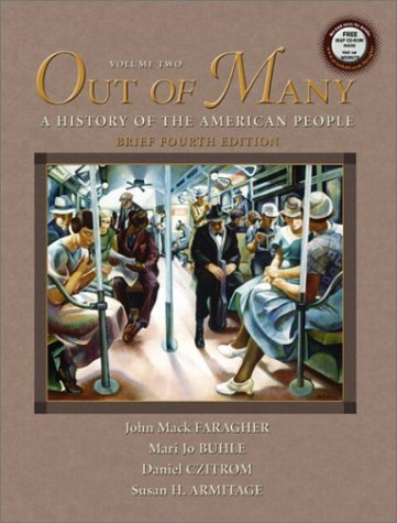 9780131824287: Out of Many,Brief: Vol. 2, Fourth Edition