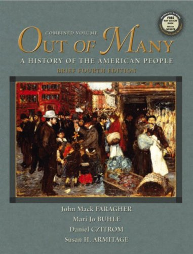 Out of Many, Vols. 1 and 2,: John Mack Faragher,
