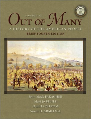 9780131824317: Out of Many, Vol. 1, Brief Fourth Edition