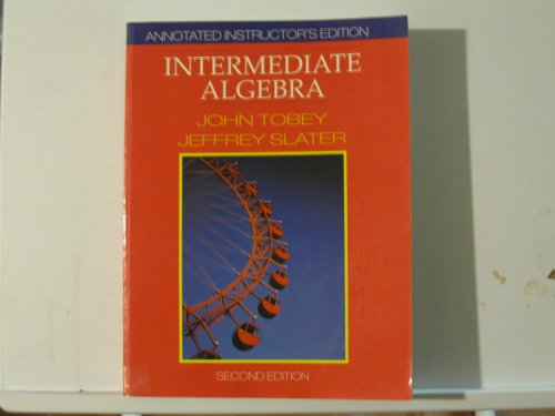 9780131824942: Annotated Instructor Edition Intermediate Algebra