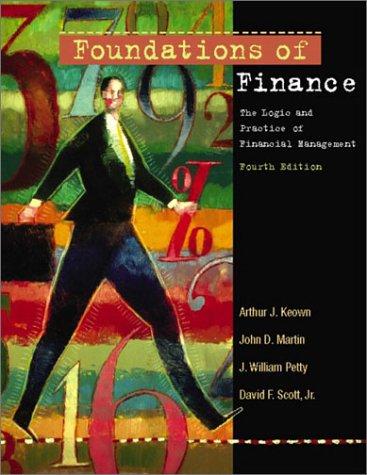 Foundations of Finance and Eva Tutor Package,: Arthur J. Keown,