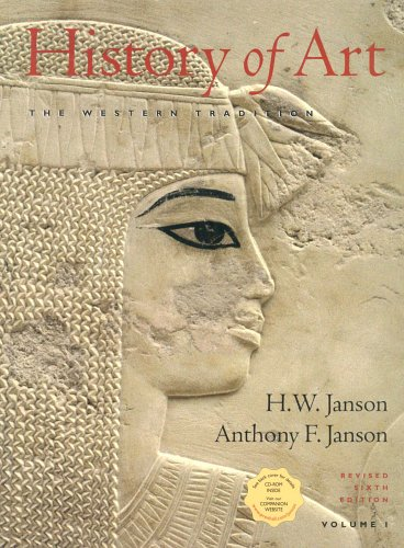 9780131826229: History of Art: The Western Tradition, Vol. 1