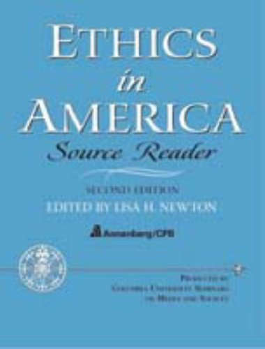 9780131826250: Ethics in America - Source Reader (2nd Edition)