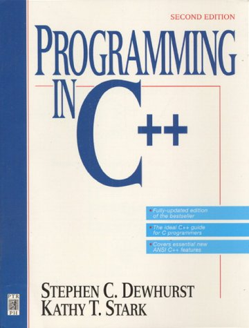 9780131827189: Programming in C++ (2nd Edition)