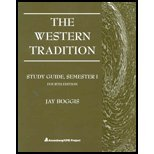 9780131828544: The Western Tradition Telecourse Study Guide, Semester I