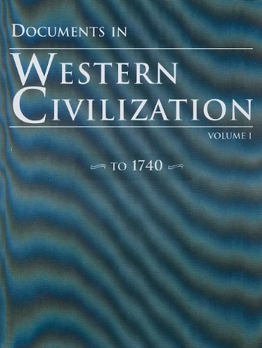 9780131828605: Documents in Western Civilization, Volume 1 (4th Edition)
