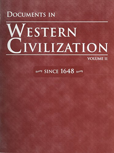Documents in Western Civilization, Volume 2 - Hall H Pearson Education