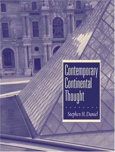 9780131829190: Contemporary Continental Thought