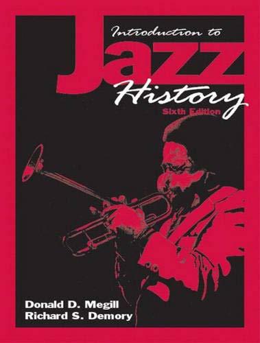 Introduction to Jazz History: Megill, Donald D.
