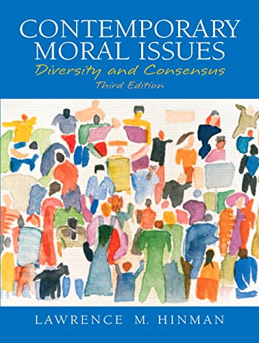9780131829978: Contemporary Moral Issues: Diversity and Consensus