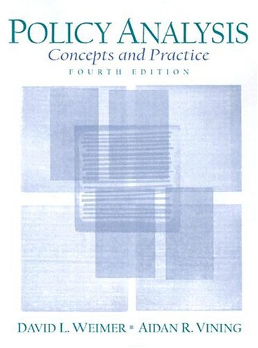 9780131830011: Policy Analysis: Concepts and Practice