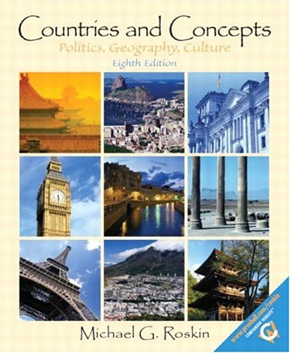 9780131830141: Countries and Concepts: Politics, Geography, and Culture, Eighth Edition