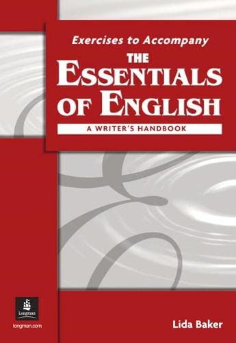 9780131830370: The Essentials of English: a Writer's Handbook (with APA Style) Workbook