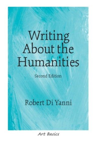 9780131830493: Writing About the Humanities (2nd Edition) (Art Basics)