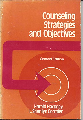 9780131833012: Counselling Strategies and Objectives (Prentice-Hall series in counseling and human development)