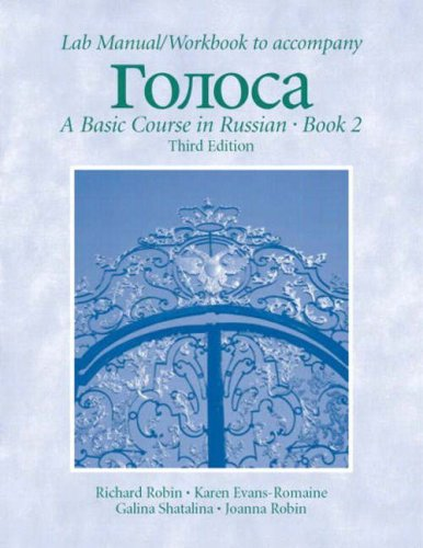 9780131833807: Golosa: Basic Course in Russian Book 2