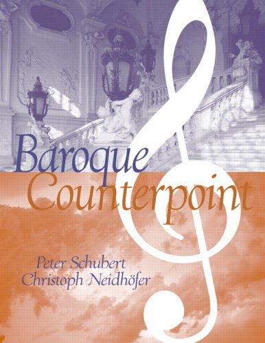9780131834422: Baroque Counterpoint