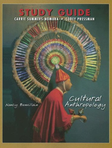9780131836501: Cultural Anthropology, Study Guide