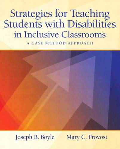 Strategies for Teaching Students with Disabilities in: Boyle, Joseph; Provost,