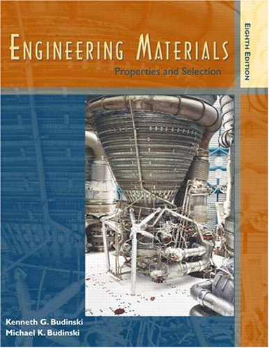 Engineering Materials: Properties and Selection (8th Edition) (0131837796) by Kenneth G. Budinski; Michael K. Budinski