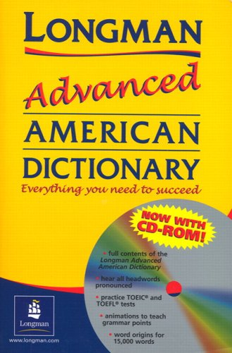 9780131838055: Longman Advanced American Dictionary Stand-alone CD-ROM (English and Spanish Edition)