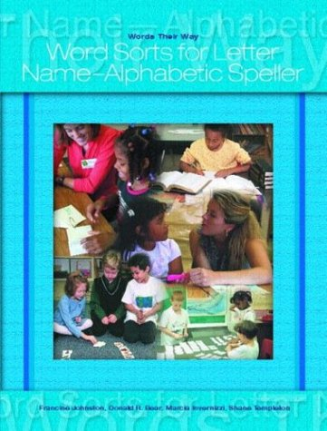 9780131838130: Words Their Way: Word Sorts for Letter Name Alphabetic Spellers