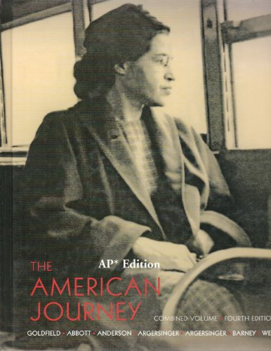 9780131838147: The American Journey: A History of the United States High School Edition (Inquiry into crucial American problems)