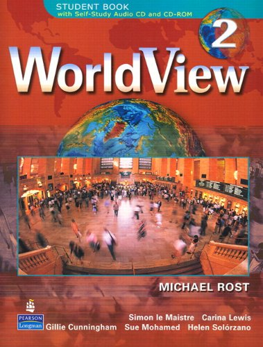 9780131840072: WorldView 2 with Self-Study Audio CD and CD-ROM Class Audio CD's (3) (Pt. 2)